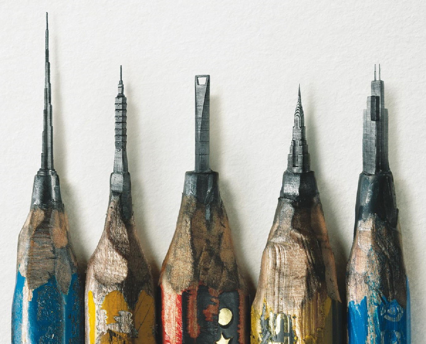 Building-shaped-pencil-leads